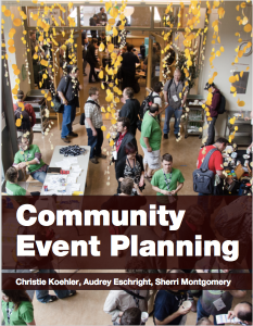 Cover image of First Edition of Community Event Planning
