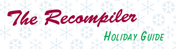 sign on for our holiday newsletter starting december 5 the recompiler