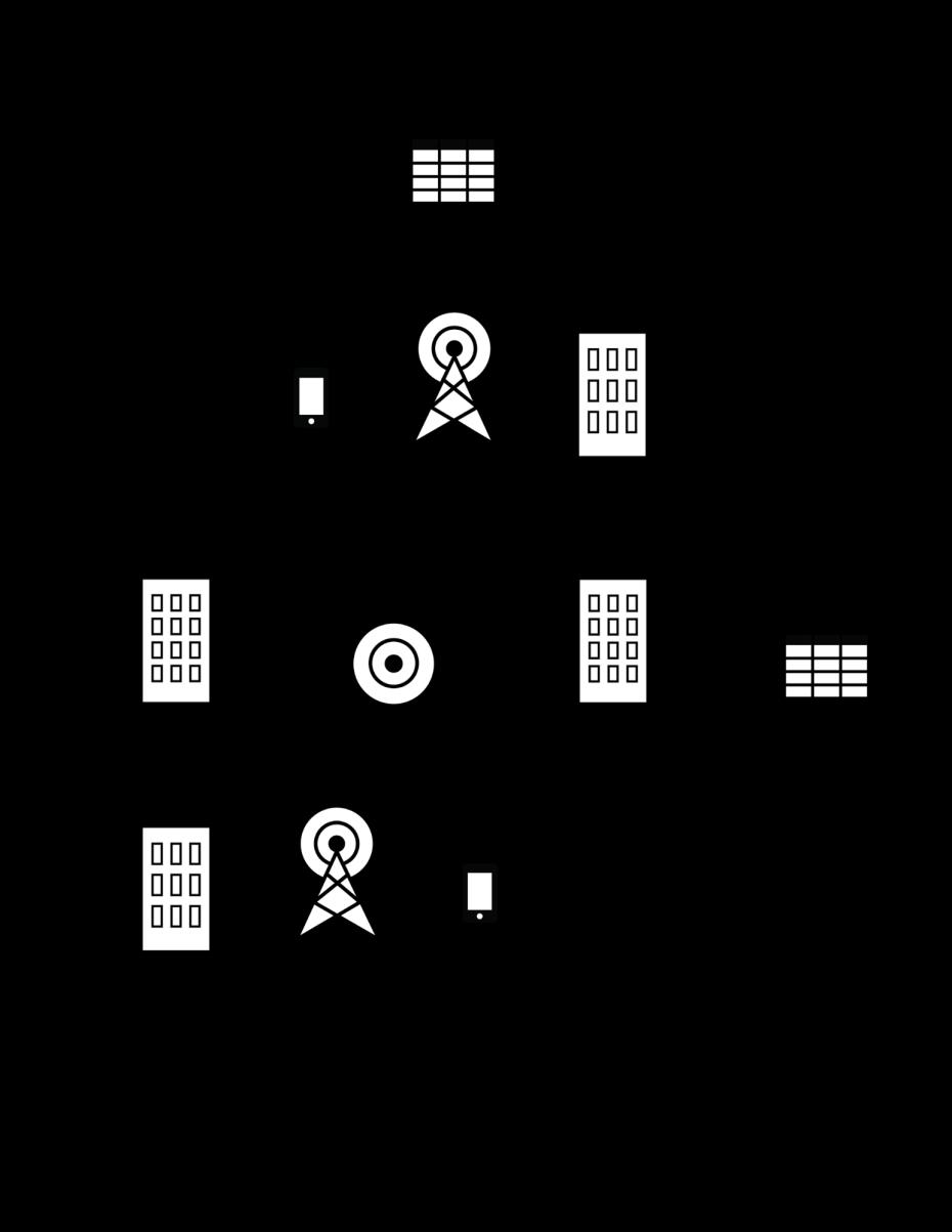 cellular network diagram