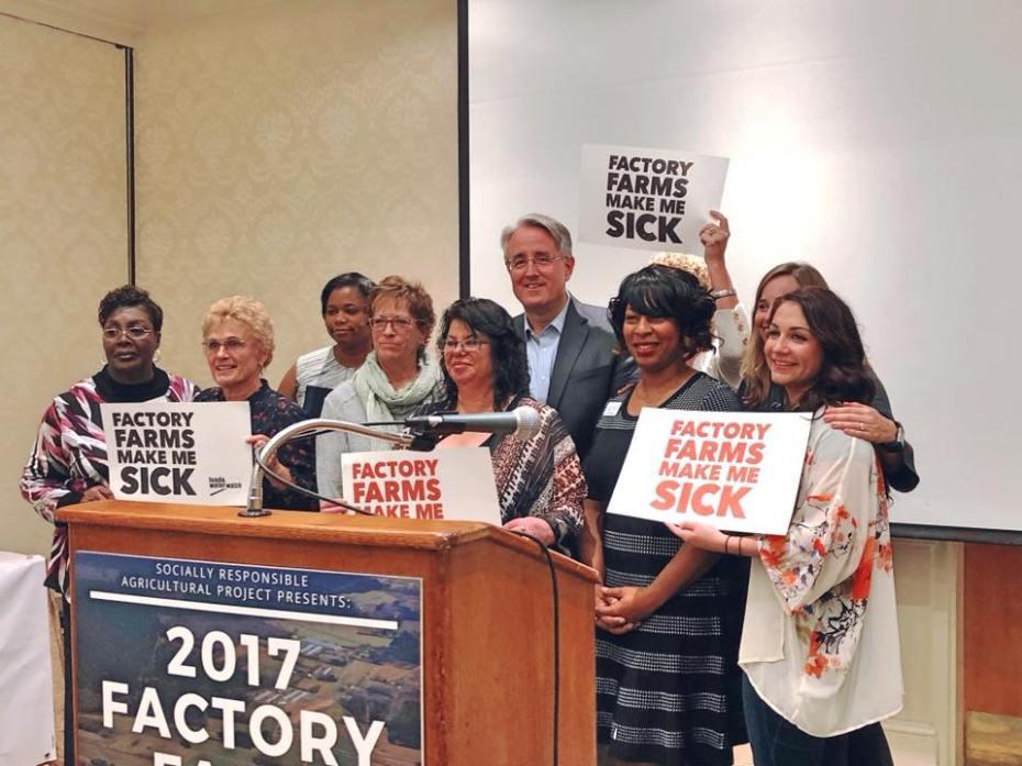 Factory Farms Make Me Sick