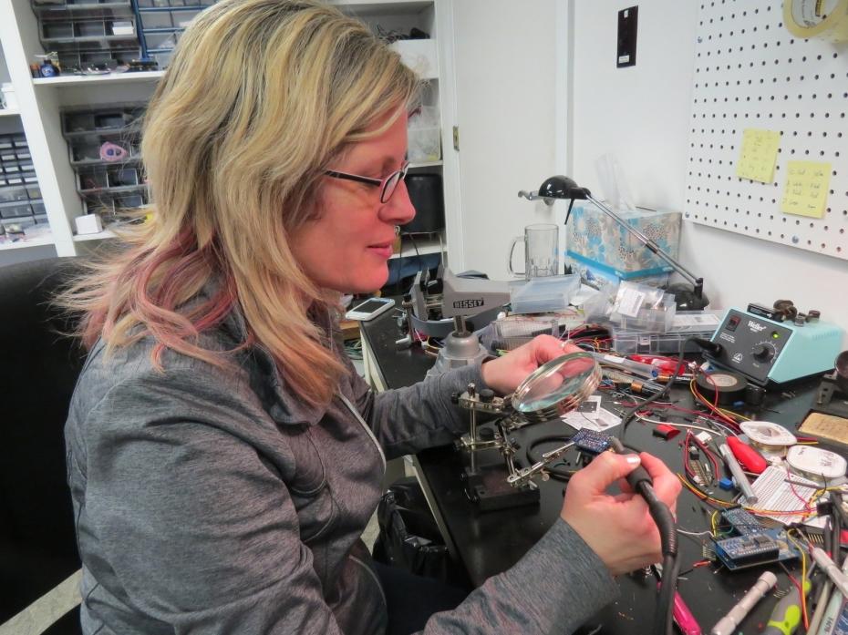 Leslie soldering
